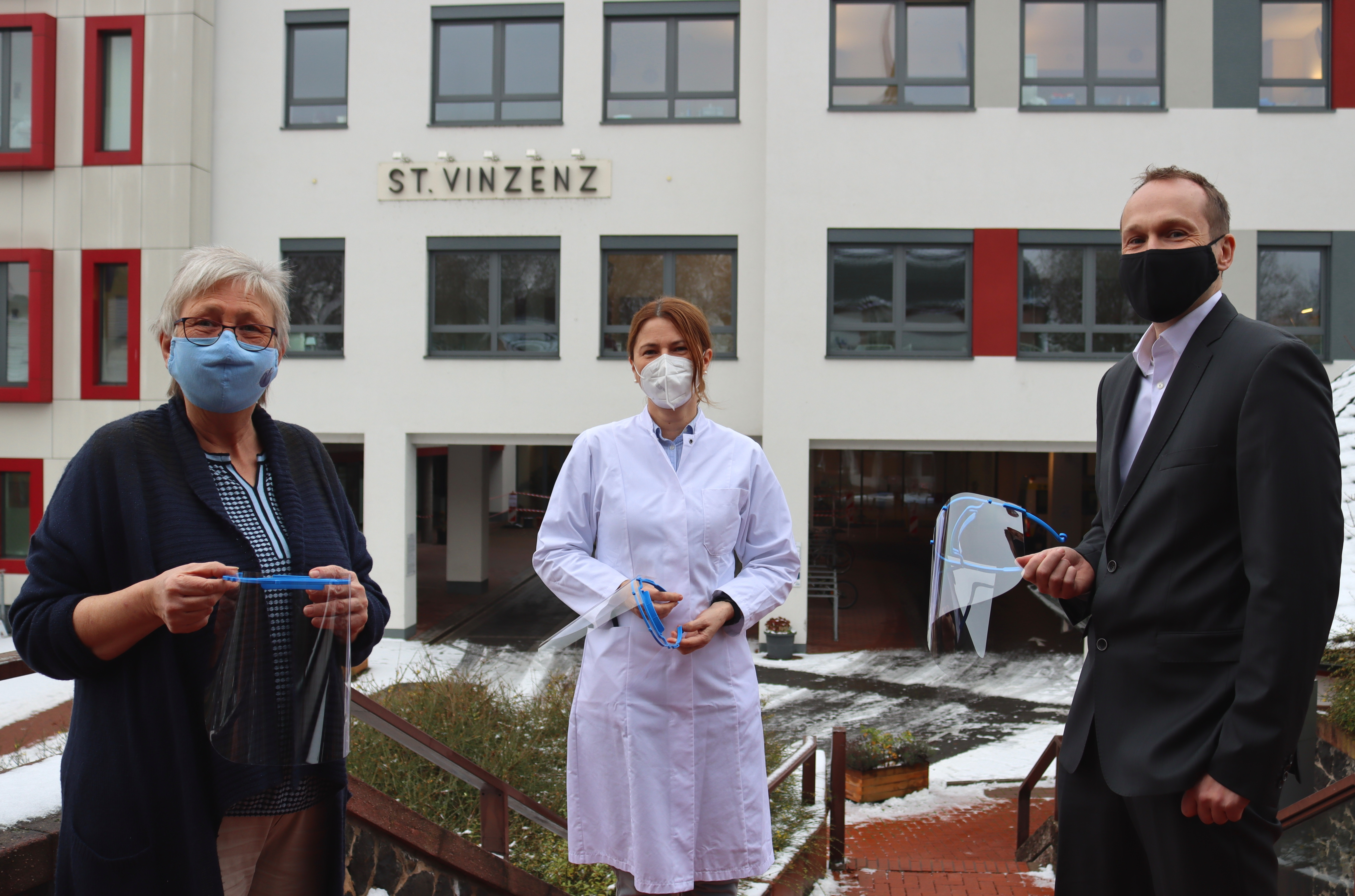 NORMA Group donated 500 face to St. Vinzenz Hospital in Hanau