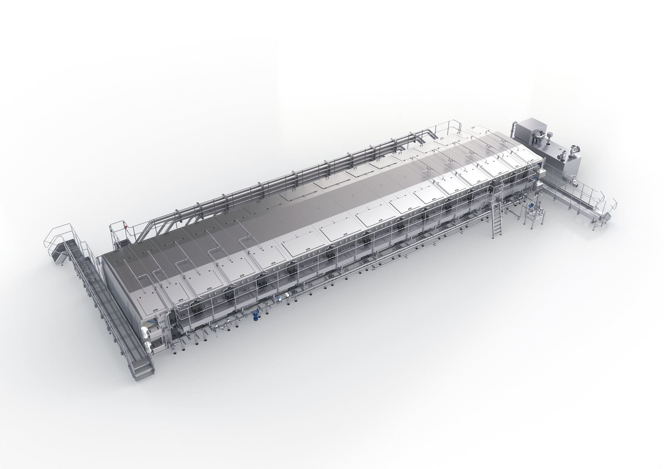 LinaFlex double-deck tunnel pasteurizer from Krones