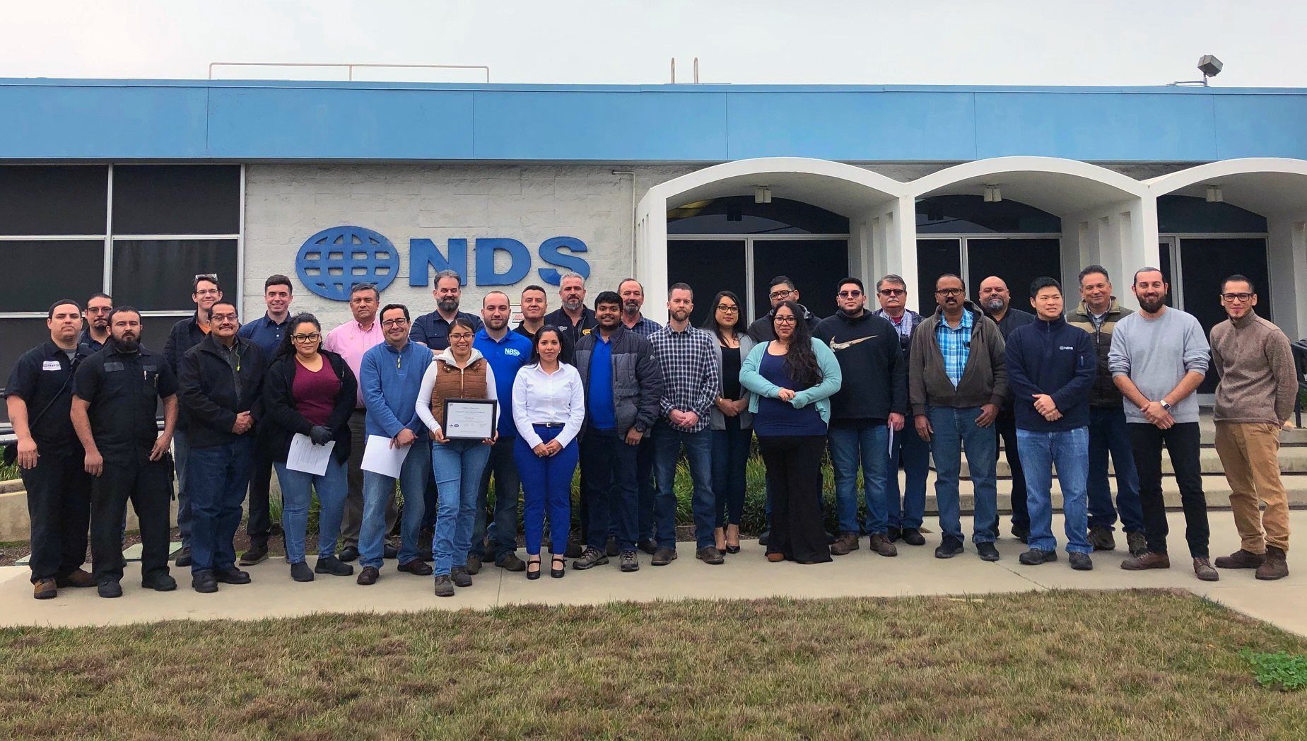 The NORMA Group team at the Lindsay plant collaborated cross-functionally.
