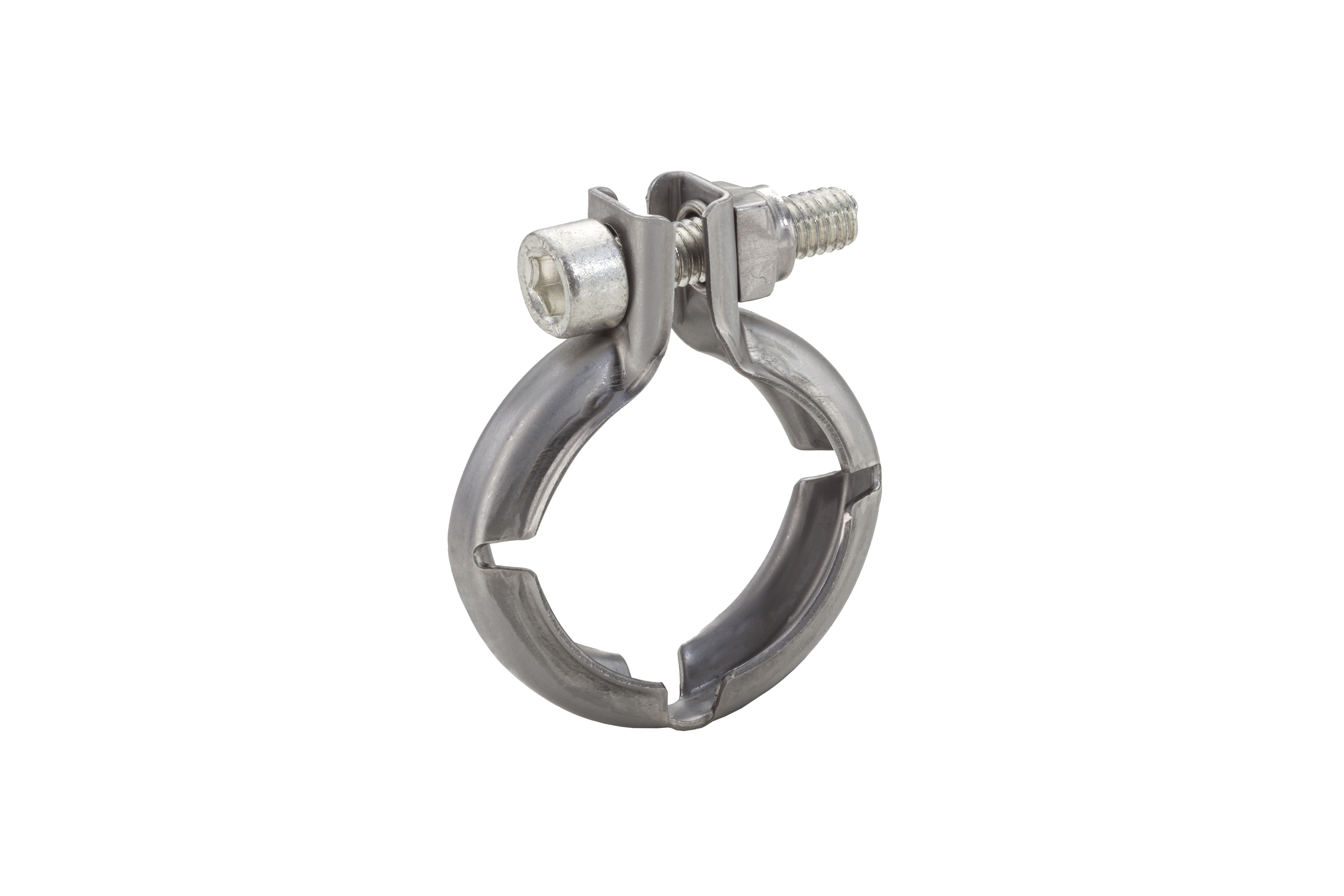 NORMA Group's V-profile clamps ensure reliable connections and allow for easy assembly.